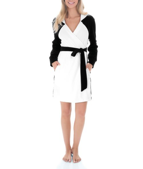Robe-Curto-Com-Capuz-Plush-Fun