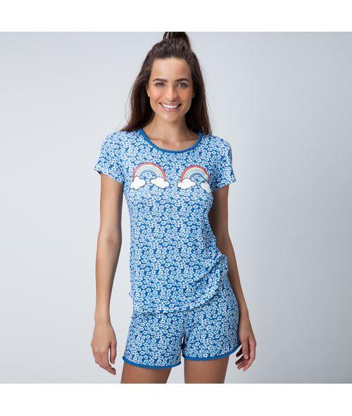 Pijama-Curto-Malha-Apple