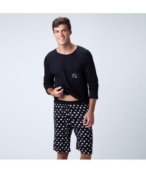 Pijama-Curto-Malha-Geek-Masculino-