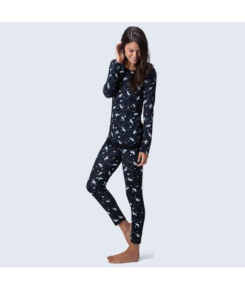 Pijama-Legging-Malha-Universo