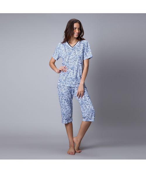 Pijama-Capri-Malha-Cleo
