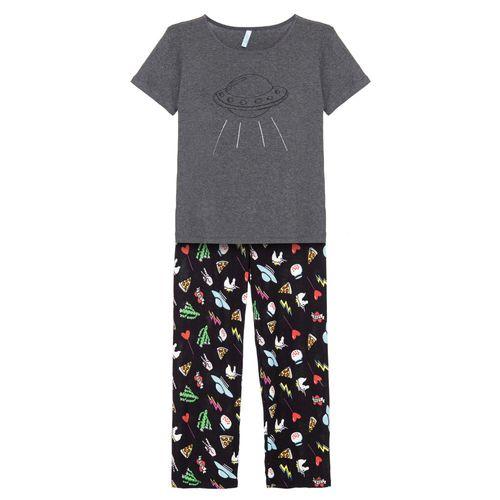 Pijama-Longo-Manga-Curta-Malha-Nana-Kids