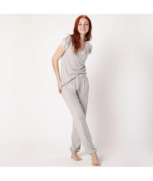 Pijama-Longo-Manga-Curta-Malha-Daniela