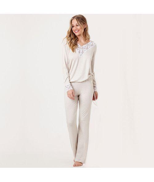 Pijama-Longo-Malha-Provance