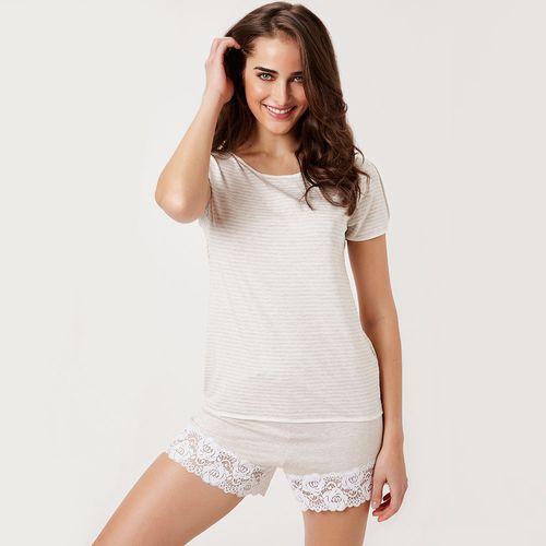Pijama-Curto-Malha-Provance