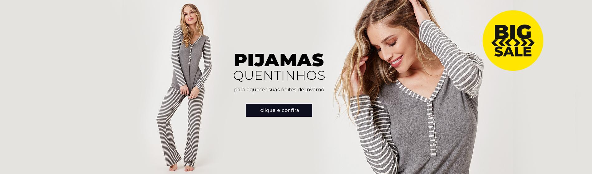 Pijamas Quentinhos
