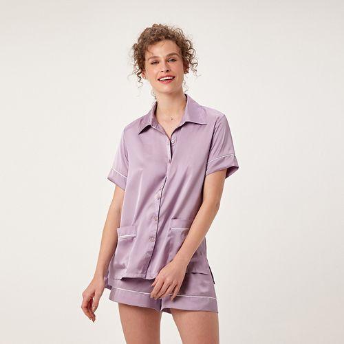Pijama-Curto-Abotoamento-Cetim-St-Tropez-