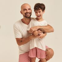 Pijama-Curto-Malha-Masculino-Kids-X-Mas