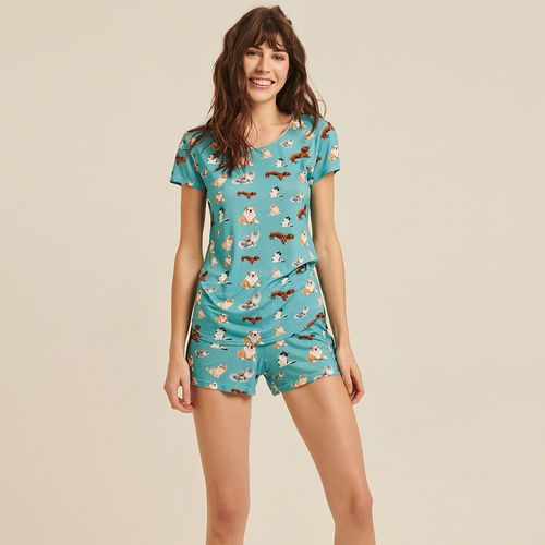 Pijama-Curto-Malha-Luma-Pets