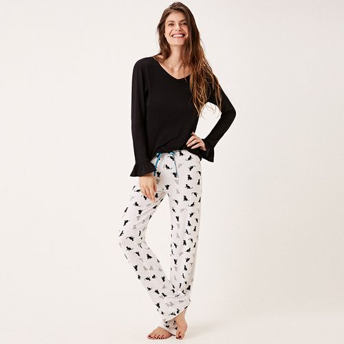 Pijama-Longo-Malha-Friends