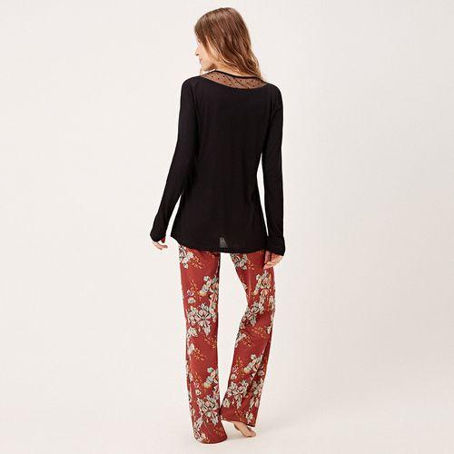 -Pijama-Longo-Tricot-Milao