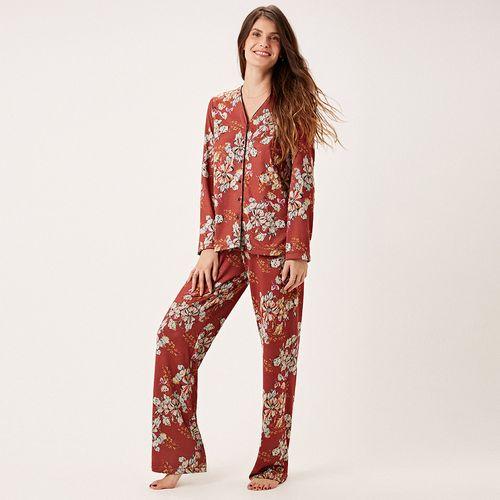 -Pijama-Longo-Abotoamento-Tricot-Milao
