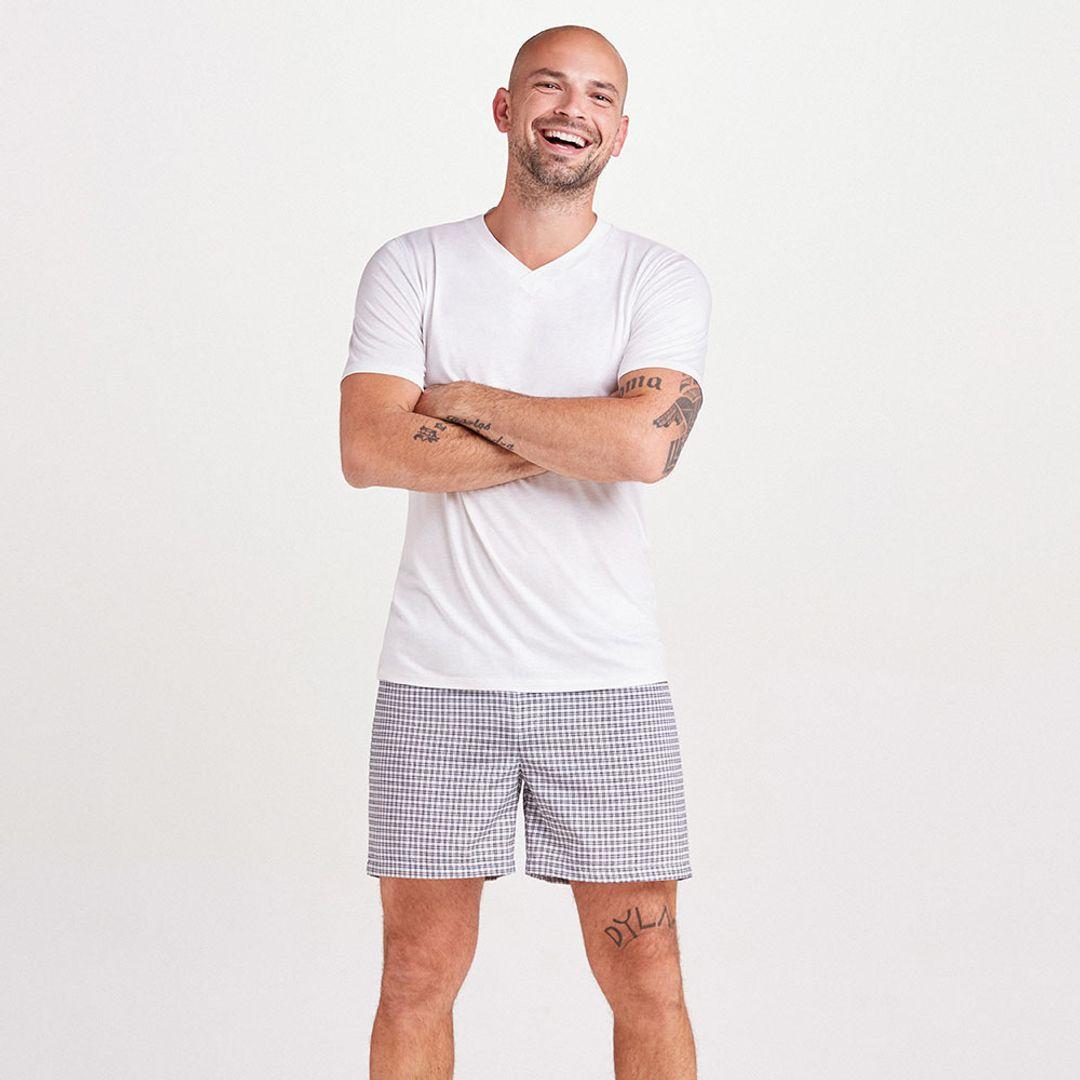 Pijama-Curto-Malha-Thomas-Masculino