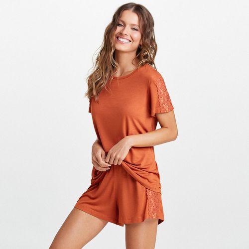 Pijama-Curto-Malha-Lion
