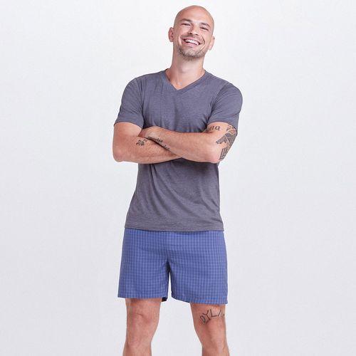 Pijama-Curto-Tricoline-Leandro-Masculino