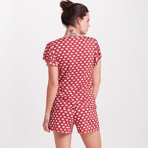 Pijama-Curto-Malha-Stars