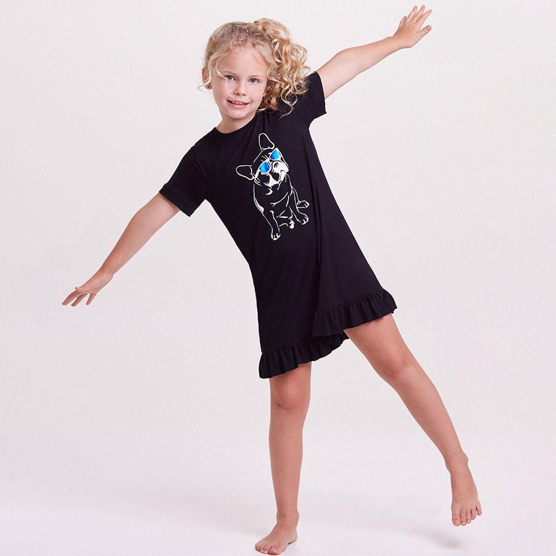 Camisola-Curta-Malha-Mari-Blue-Kids-Feminino