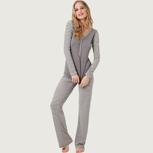 Pijama-Longo-com-Botoes-Malha-New-Biarritz