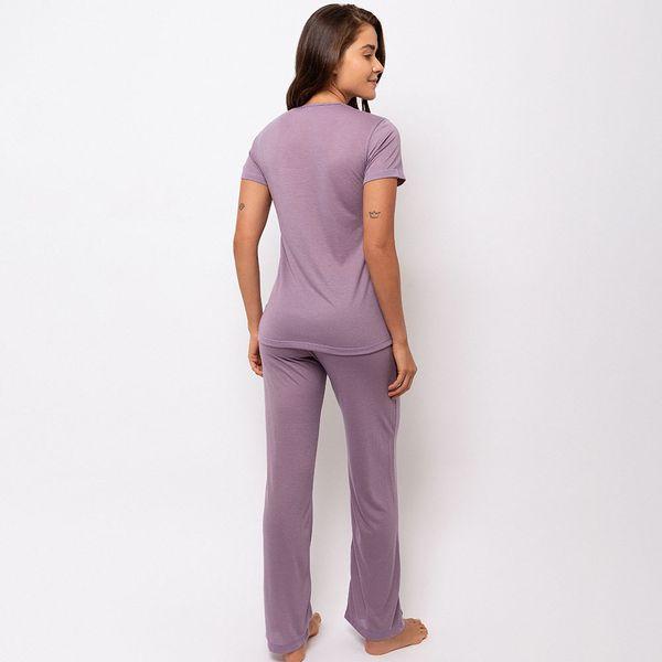 Pijama-Longo-Malha-Malva