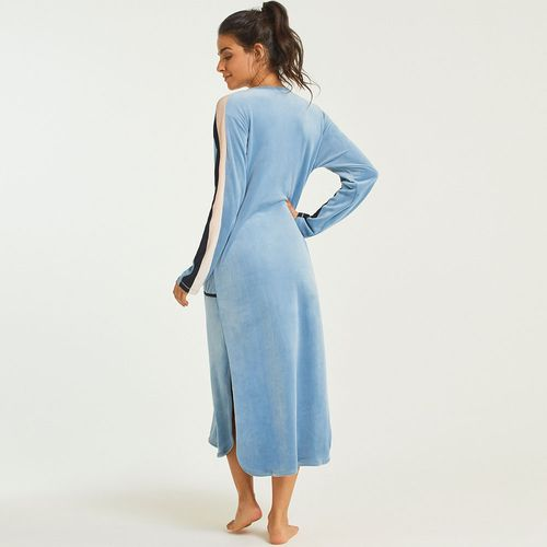 Vestido-Midi-Plush-Layla