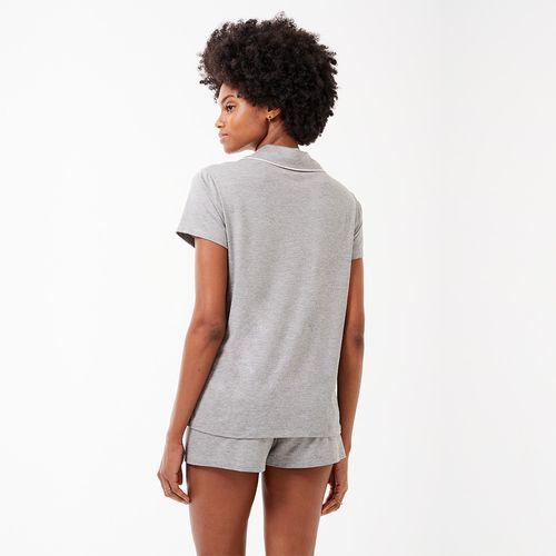 Pijama-Curto-Manga-Curta-Abotoamento-Malha-Polo-Norte