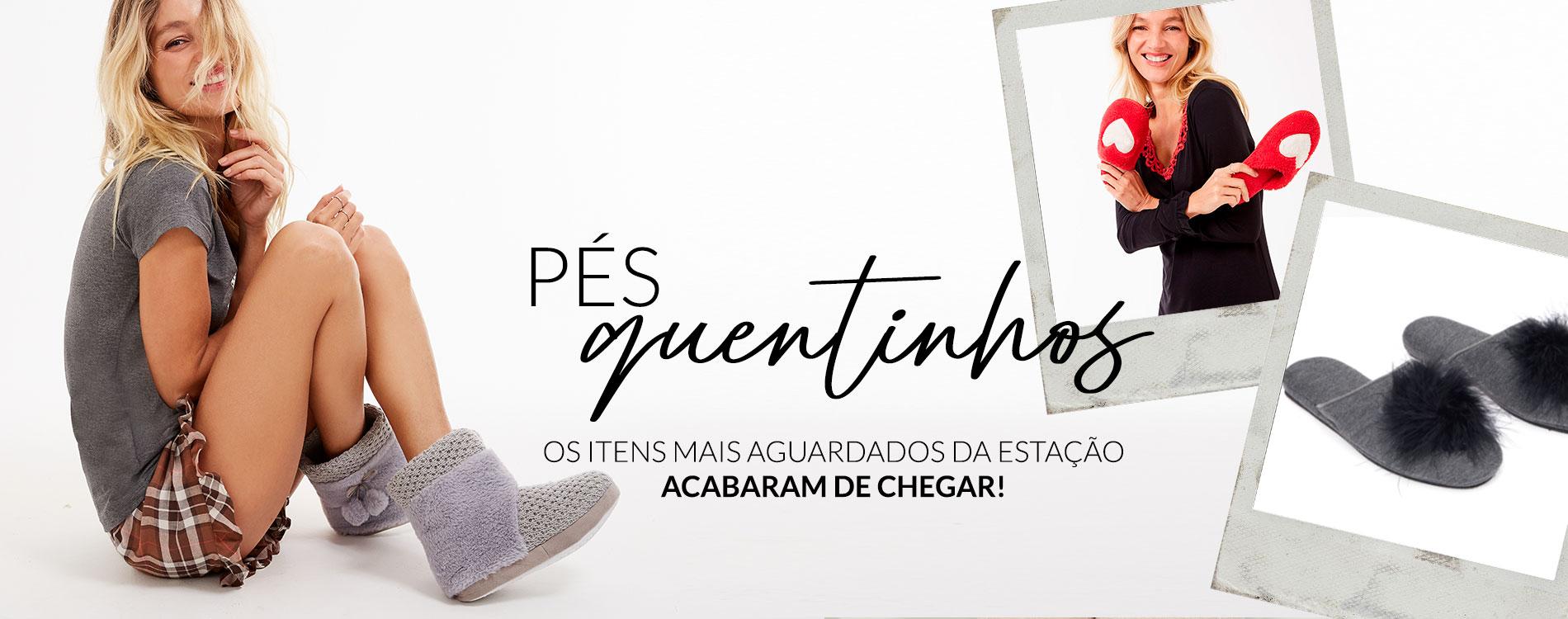 Pés Quentinhos - trackEcommerce