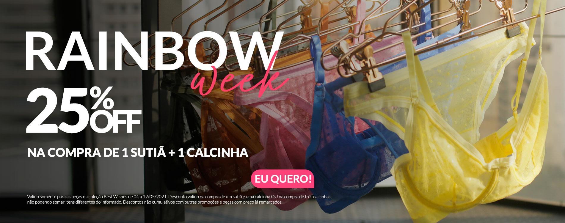 Promoção | Rainbow Week - trackEcommerce