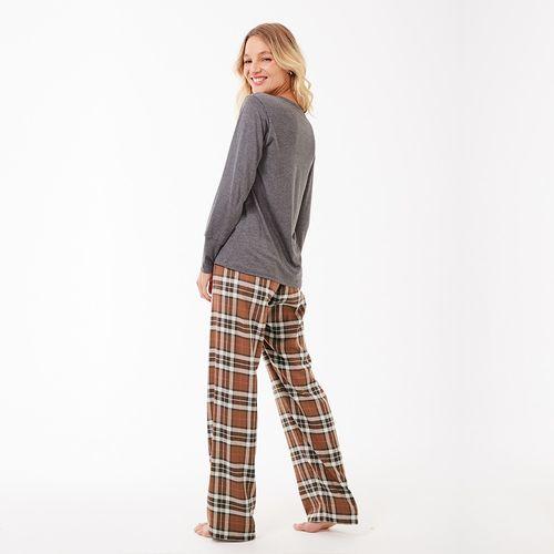 Pijama-Longo-Manga-Longa-Flanela-Artico