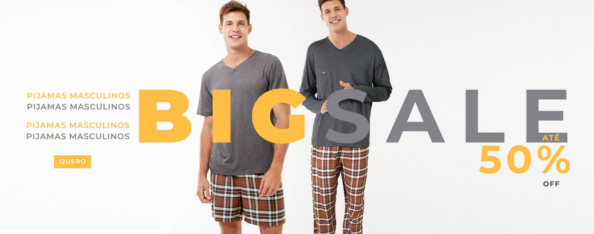 Big sale pijama masculino - trackEcommerce