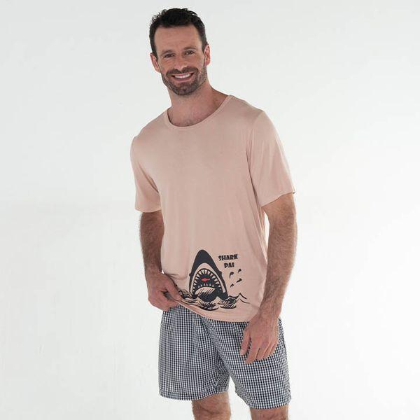 Pijama-Curto-Tricoline-Australia-Masculino
