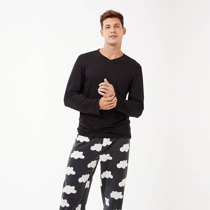 Pijama-Longo-Manga-Longa-Soft-Groenlandia-Masculino