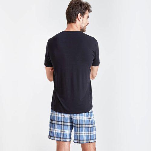 Pijama-Curto-Manga-Curta-Tricoline-Davi-Masculino