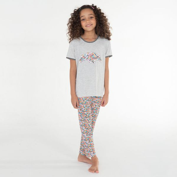 Pijama-Longo-Manga-Curta-Malha-Mizunhocas-Mini-Feminino