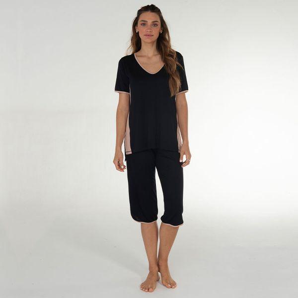 Pijama-Capri-Manga-Curta-Malha-Riviera