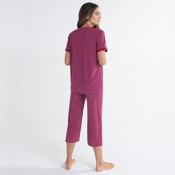 Pijama-Capri-Manga-Media-Jersey-Croacia