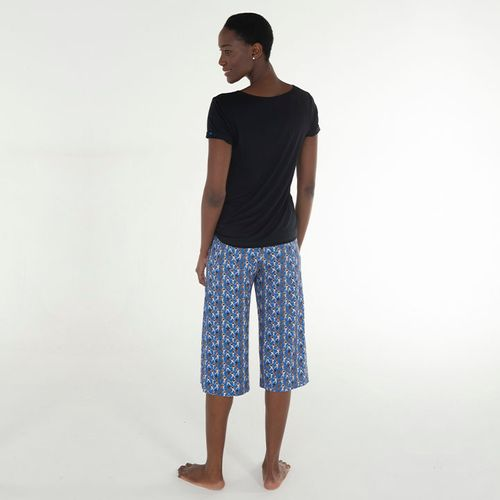 Pijama-Capri-Manga-Curta-Malha-Filipinas